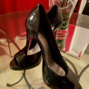Black Bebe Heels! Hardly used!💕